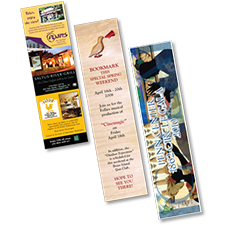 printing bookmarks in full color