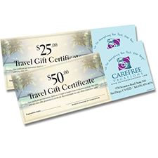 on line source for gift certificate printing forms at wholesale prices